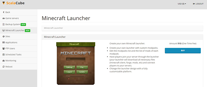 Buy Minecraft launcher