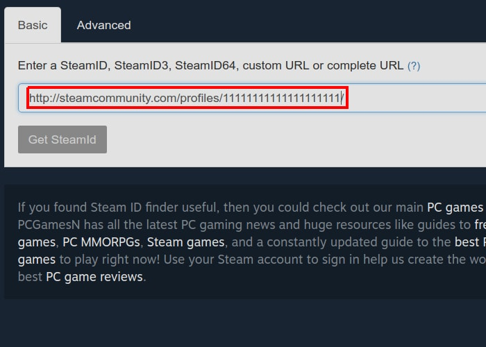 Convert Steam ID to SteamID64