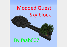 Modded Quest Sky block